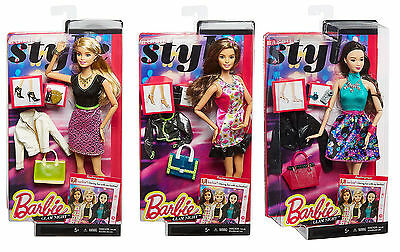 Barbie Style Glam Night Choose From 3 Dolls Or Collect Them All