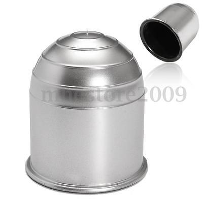 50mm Chrome Tow Bar Ball Cover Plastic Cap Protector Car Towing Hitch Towball