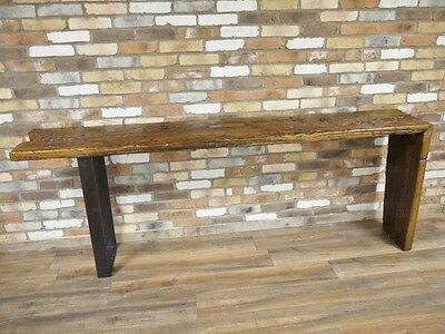 Stunning Urban vintage Contemporary Rustic Console Table breakfast bar 4498