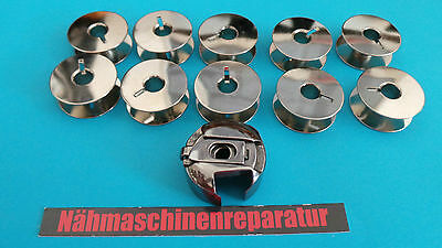 Bobbin case 6 mm and 10 Metal Coils Rotary Gripper For Pfaff Sewing machine