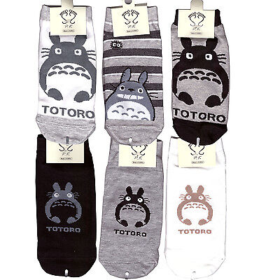 totoro Socks Ghibli selling 3 Pair of socks for Woman, 2 options ship2.35