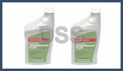 New Genuine Honda Acura MTF Manual Transmission Fluid x2 Quarts OEM 087989031