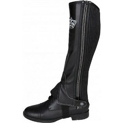 Horka half chaps with diamantes ( horse riding )