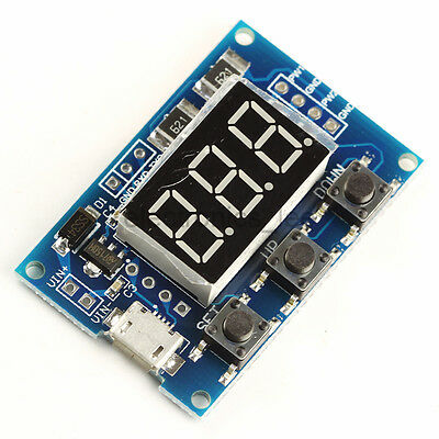 2 Channel PWM Signal Generator Pulse Frequency Duty Cycle Adjustable