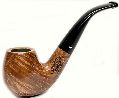 Hardcastle Supergrain Natural Briar Bent Pipe, Made in London, England (121)