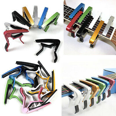 Advanced Guitar Capo Quick Change Tune Clamp Acoustic Electric Classic Guitar MM