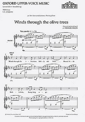 Winds Through The Olive Trees. Choral Sheet Music