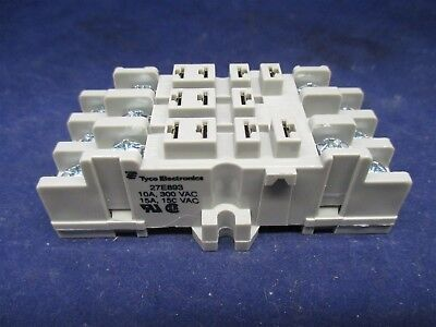Tyco Electronics 27E893 Socket Relay