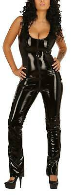 Ledapol - Figurbetonender Lack Zip-Overall / Catsuit ouvert in diversen Farben