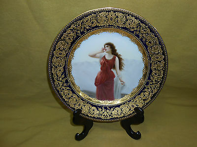 Royal Vienna Hand Painted Plate