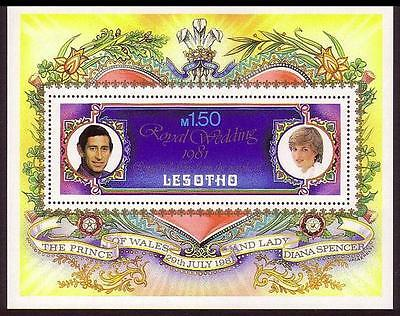 Lesotho Royal Wedding MS (2nd issue) SG#MS454 MI#Block 9A