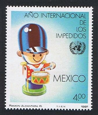 Mexico International Year of Disabled People 1v SG#1596 SC#1239