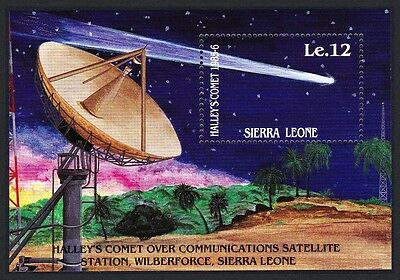 Sierra Leone Appearance of Halley's Comet 1st issue MS SG#MS936