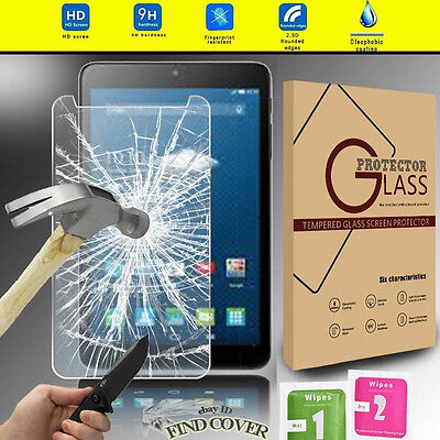 Genuine Tablet Tempered Glass Screen Protector For Alcatel OneTouch PIXI 3 8.0""