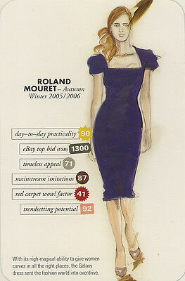 Swap Trade Card: Roland Mouret. New. Fashion.