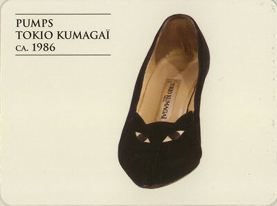 Single Swap Game Card: Tokio Kumagi Shoes. Fashion.