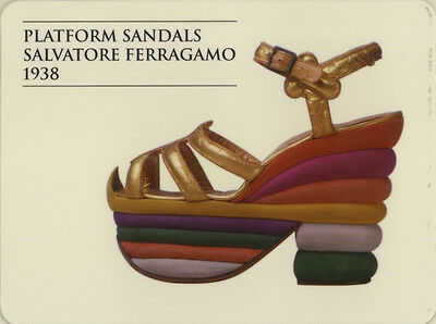 Single Swap Game Card: Salvatore Ferragamo Shoes. Fashion.