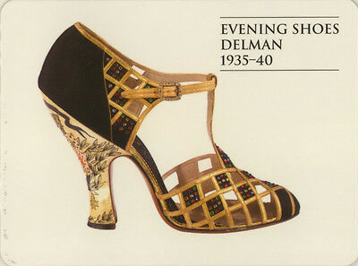 Single Swap Game Card: Delman Evening Shoes. Fashion.