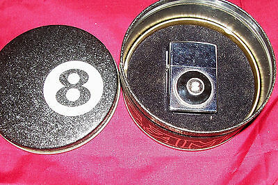 Zippo 8 Ball Camel Cigarettes Cigarette Lighter Pool Billiards Collector Vintage