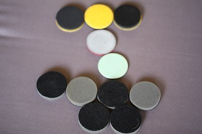 Azuradisc One Touch 50, One Touch Pro & Advantage Abrasive Pads (Mixed lot x 11)