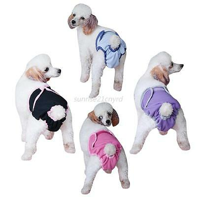 Pet Dog Physiological Puppy Cat Short Sanitary Pants Underwear Diaper Adjustable