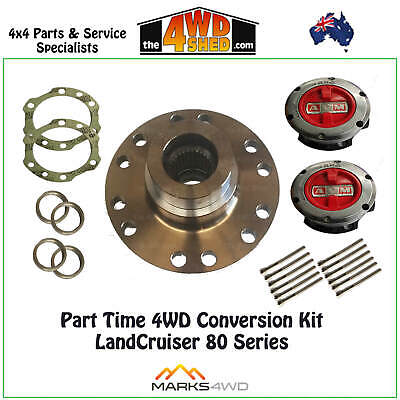 Marks 4WD Adaptors - Part Time 4WD Conversion Kit - Toyota 80 Series Landcruiser