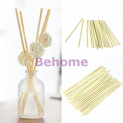 20/60/100 Pcs Replacement Reed Oil Fragrance Diffuser Sticks Practical Gadget