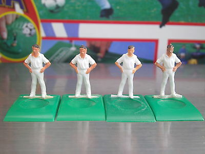 4 Spare Subbuteo Table Cricket Fielders Hands On Hips  **good Condition**