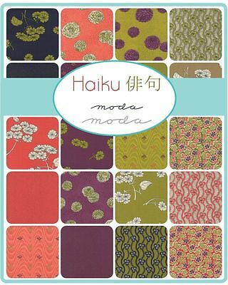 Patchwork/quilting Fabric Moda Charm Squares/packs - Haiku
