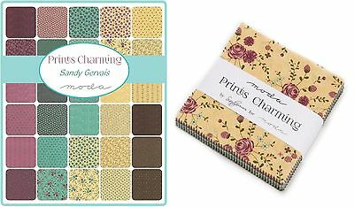 Patchwork/quilting Fabric Moda Charm Squares/packs - Prints Charming