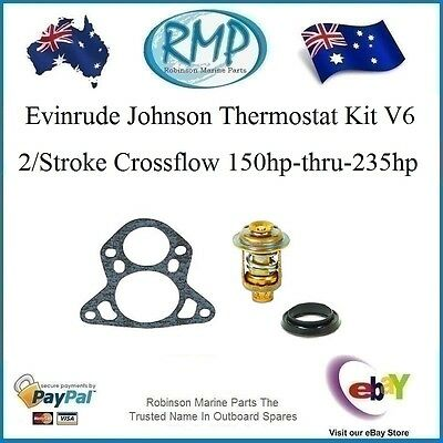 A Brand New RMP Thermostat Kit Suits V6 2/Stroke Cross Flow Evinrude Johnson