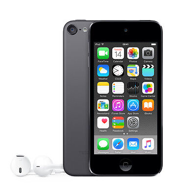 """Apple MKH62BT/A 4"""" iPod Touch 6th Gen 16GB with Retina Display - Space Grey A"""