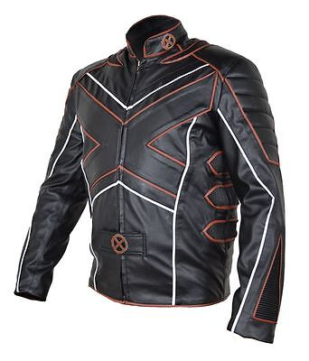 Celebrita X Wolver Style Men's Leather Jacket Top Quality - CE Armour Protection