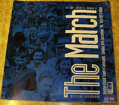 1999/2000 FA CUP 3RD ROUND - HUDDERSFIELD TOWN v LIVERPOOL