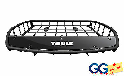 Thule 859 Canyon XT Basket Roof Rack Mount Cargo Luggage Tray Cage Platform