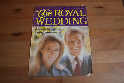 The Royal Wedding - Woman's Own Nov 10 1973 - Princess Anne & Mark Phillips