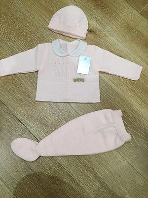 Girls Spanish Knitted Set