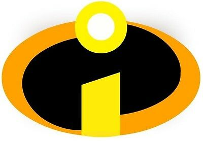 ***Great Incredibles Logo***************Fabric/T-Shirt Iron On Transfer