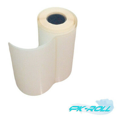 Self Adhesive White Sticky Labels postage address rolls 102x76mm 4x3 inch.