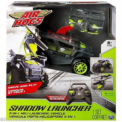 Air Hogs Shadow Launcher Spinmaster