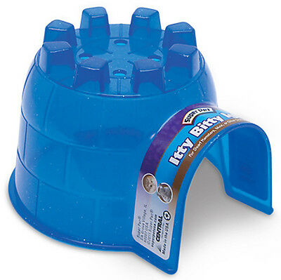 Super Pet - Itty Bitty Igloo Hide-Out - 4 x 4.5 x 3 Inch