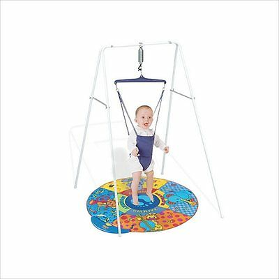 Jolly Jumper Exerciser with Stand+Musical Matt(Gift Pack)