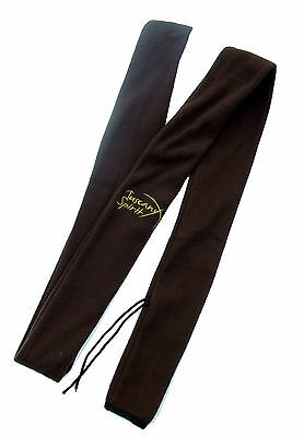 New Tuscany Spirit Archery Brown Fleece Longbow Flat Bow Sleeve Case Cover Bag