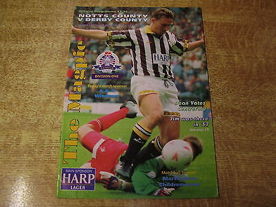 1994/95 ANGLO ITALIAN CUP - NOTTS COUNTY v DERBY COUNTY