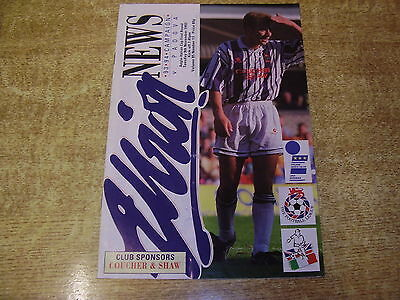 1993/94 ANGLO ITALIAN CUP - WEST BROMWICH ALBION v PADOVA