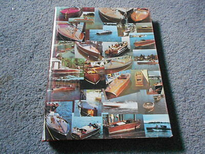 1984 THE REAL RUNABOUTS II VOLUME 2 BOAT BOOK by SPELTZ SIGNED WITH BROCHURES HC