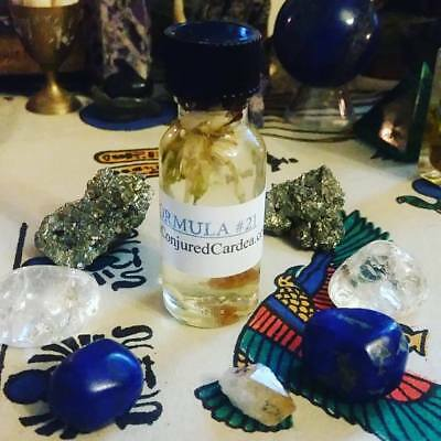 Formula #21 Oil-Hoodoo, Witchcraft-Uncrossing, Success, Road Opening