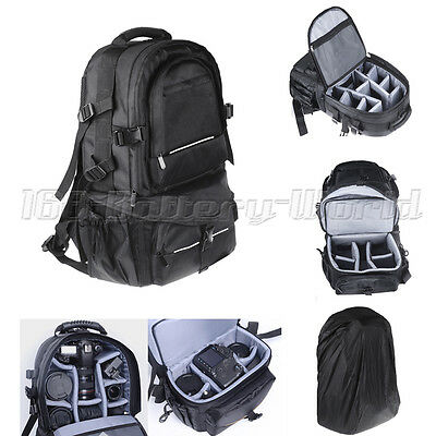 Professional Camera Backpack Rucksack Waterproof Case Bag For Canon Nikon Sony