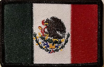 MEXICO Flag Patch With VELCRO® Brand Fastener Morale Tactical Emblem #904
