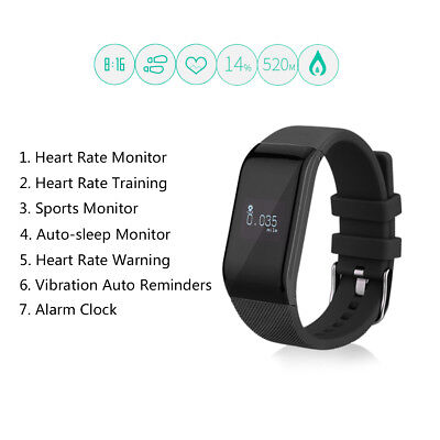 Diggro Intelligente Bracciale Orologio Bluetooth Call/SMS Notifica Android IOS